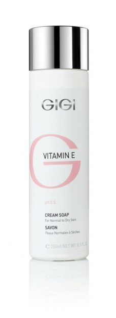 GIGI Vitamin E Cream Soap 250ml 8.4fl.oz
