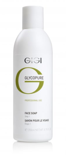 GIGI Glycopure Face Soap 250ml 8.75fl.oz (Step 1)