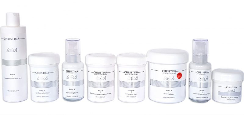 Christina Wish Professional Kit (8 Products)