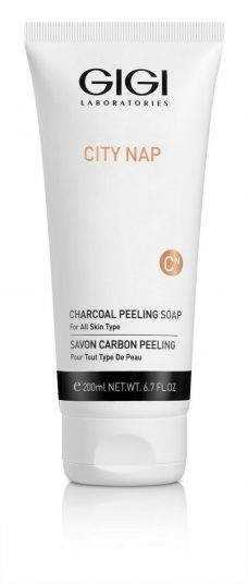 GIGI City Nap Charcoal Peeling Soap 200ml 6.7fl.oz